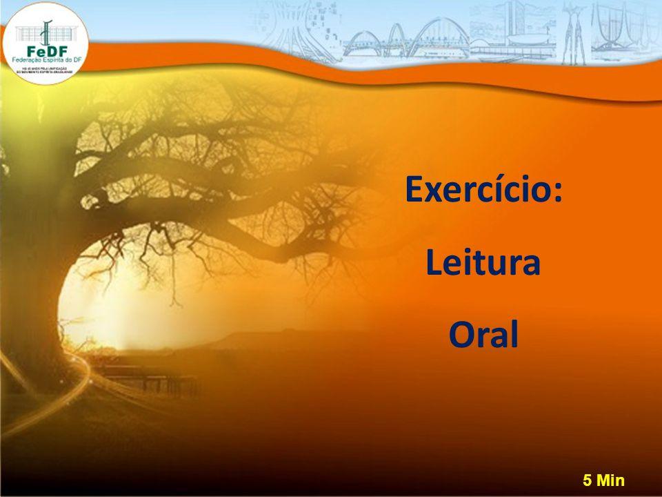 Exercício: Leitura Oral 5 Min