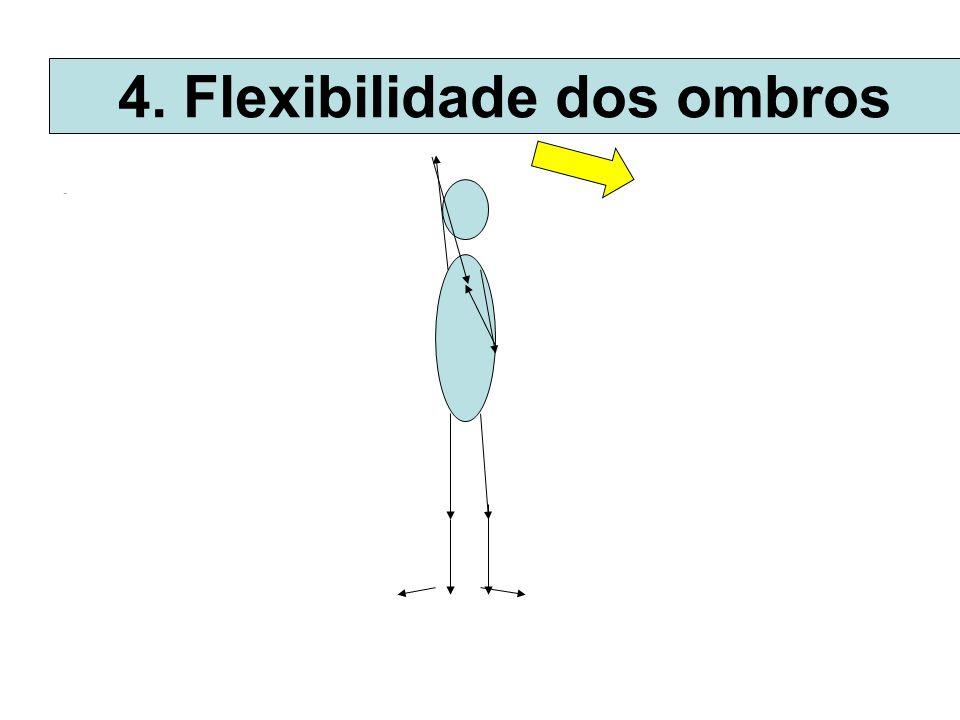 . 4. Flexibilidade dos ombros