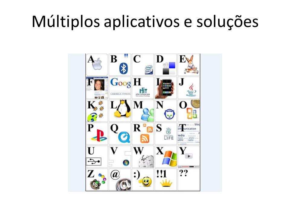 Múltiplos aplicativos e soluções