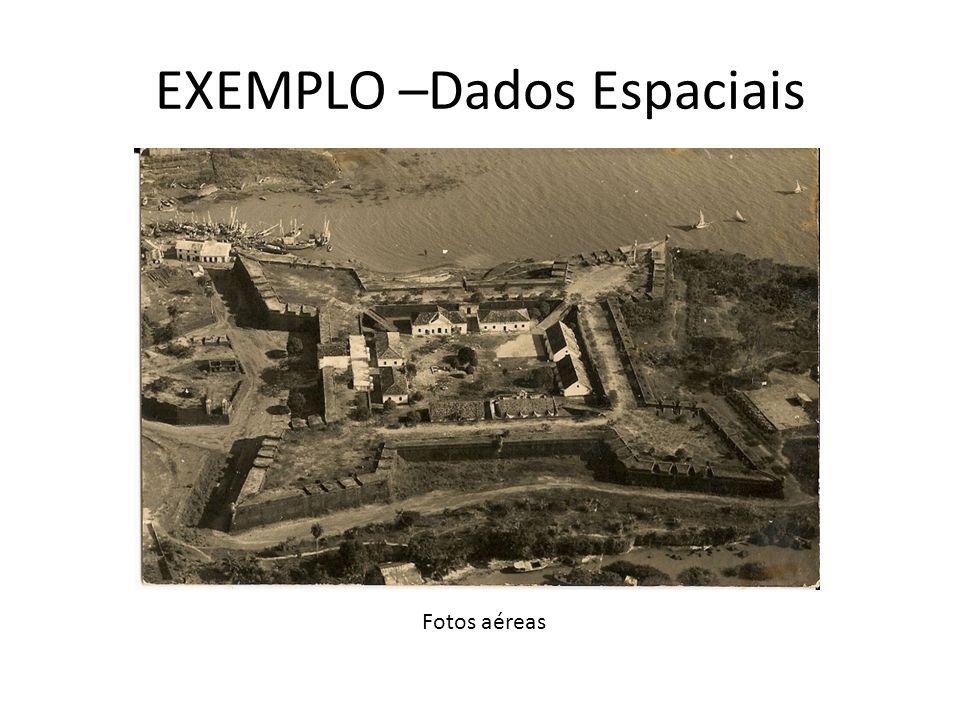 EXEMPLO –Dados Espaciais Fotos aéreas