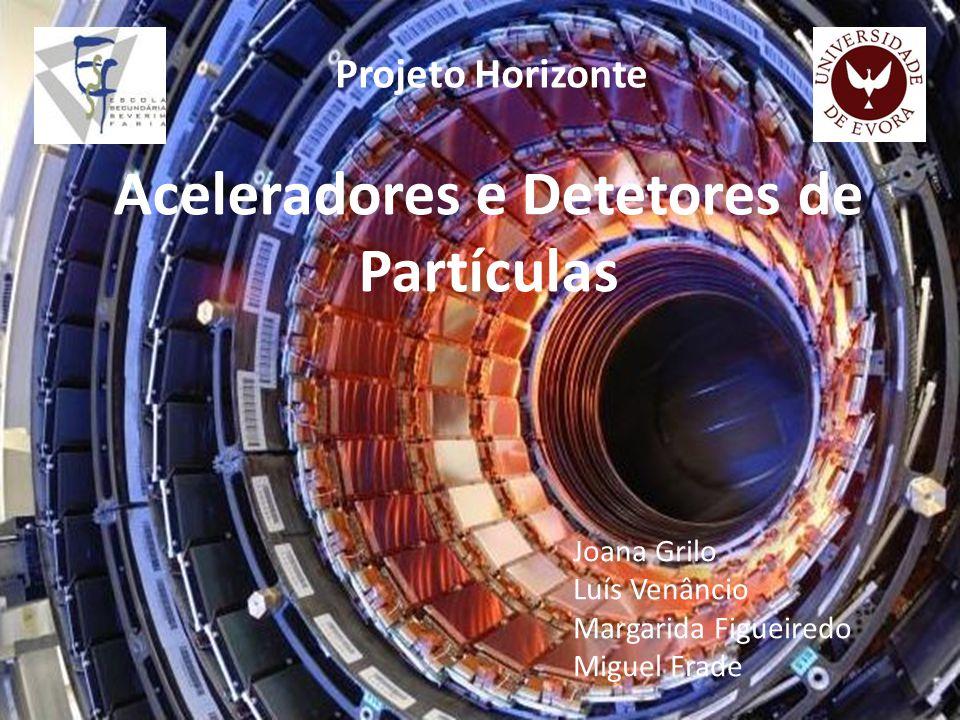 Aceleradores e Detetores de Partículas Joana Grilo Luís Venâncio Margarida Figueiredo Miguel Frade Projeto Horizonte