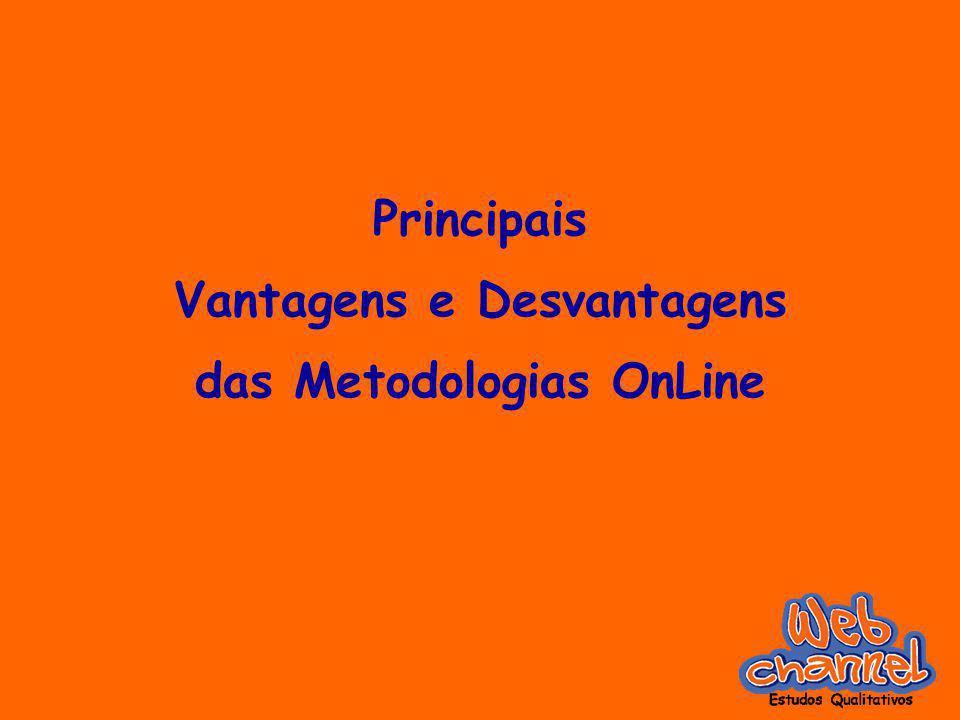 Principais Vantagens e Desvantagens das Metodologias OnLine