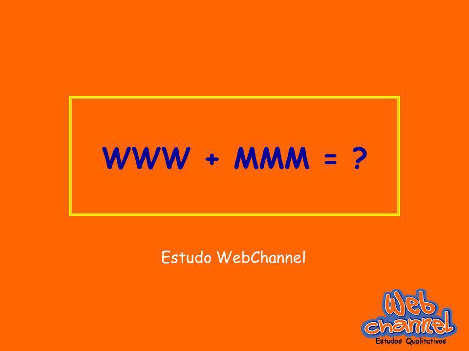 WWW + MMM = Estudo WebChannel