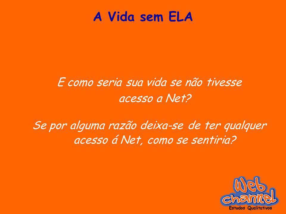A Vida sem ELA E como seria sua vida se não tivesse acesso a Net.