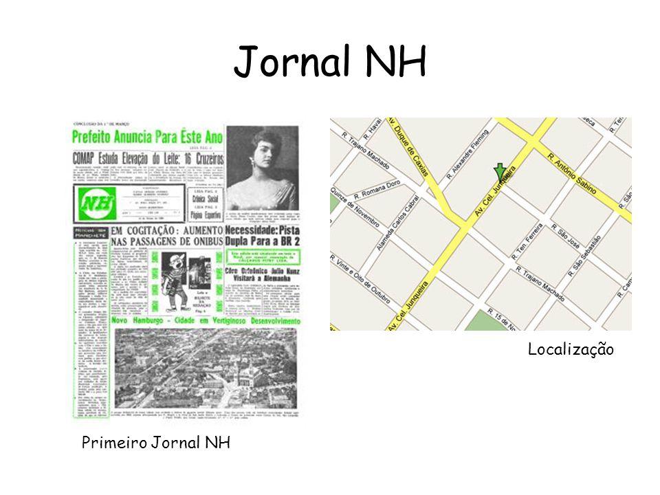 Jornal NH Localização Primeiro Jornal NH