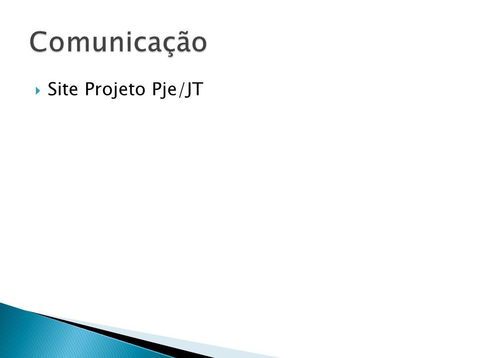 Site Projeto Pje/JT