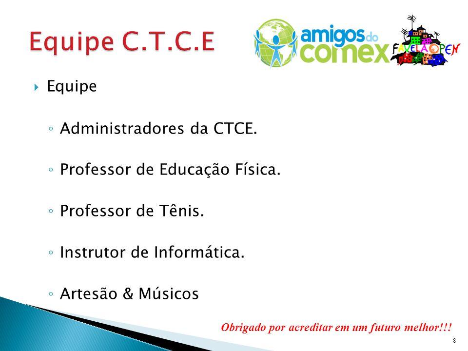 Equipe Administradores da CTCE.Professor de Educação Física.