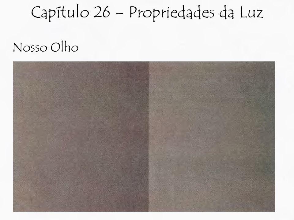 Nosso Olho Capítulo 26 – Propriedades da Luz