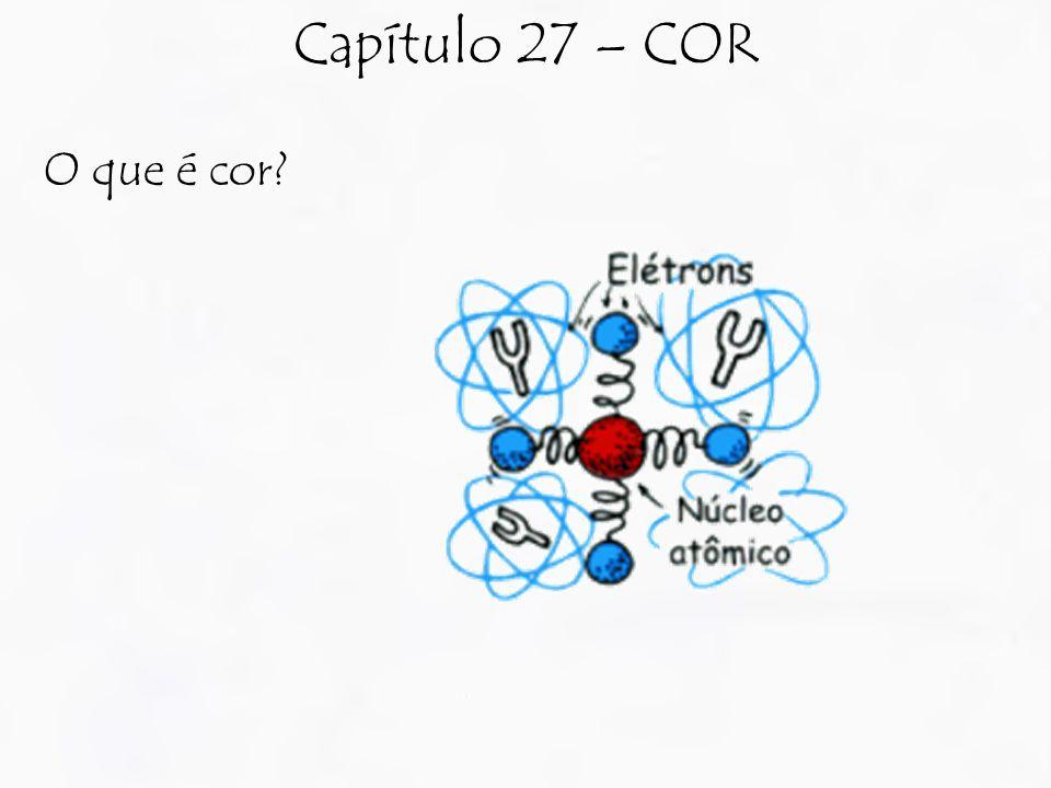 O que é cor Capítulo 27 – COR