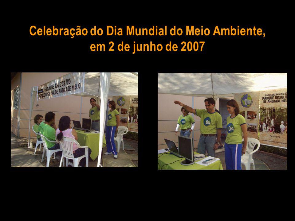 Celebração do Dia Mundial do Meio Ambiente, em 2 de junho de 2007