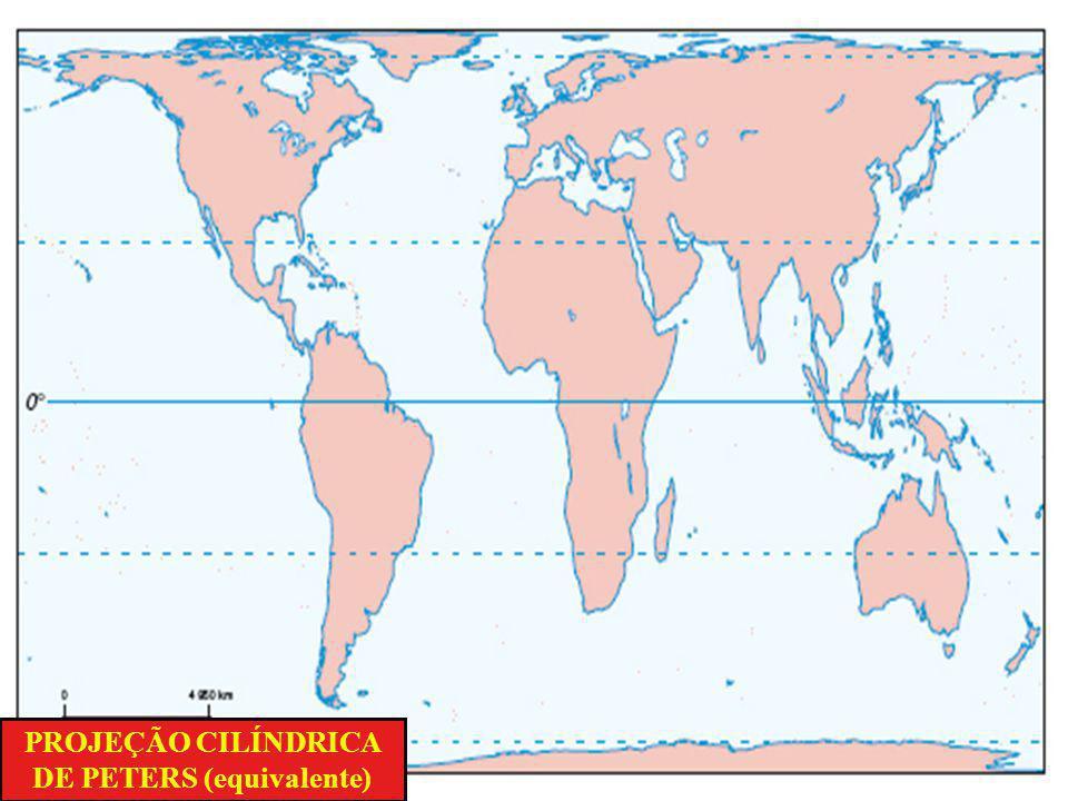 Como a Terra é um geóide, representá-la em um plano sempre foi um desafio. Para representá-la usam-se figuras geométricas como um cilindro, um cone e