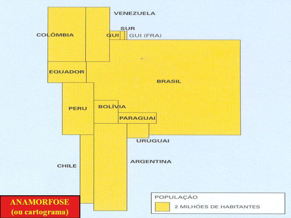 PROJEÇÃO CILÍNDRICA DE MERCATOR (conforme)