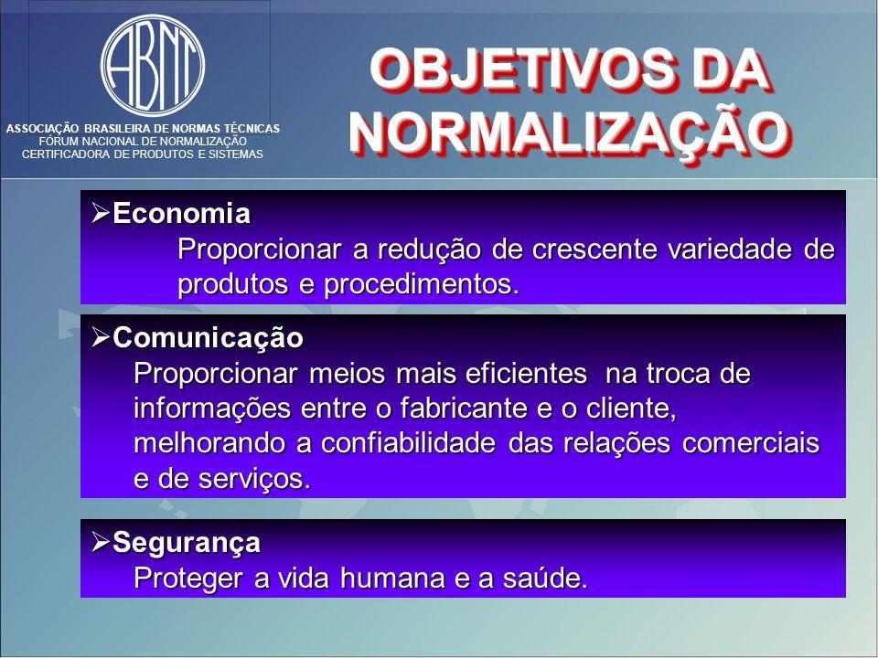 ASSOCIAÇÃO BRASILEIRA DE NORMAS TÉCNICAS FÓRUM NACIONAL DE NORMALIZAÇÃO CERTIFICADORA DE PRODUTOS E SISTEMAS Comunicação Comunicação Proporcionar meio