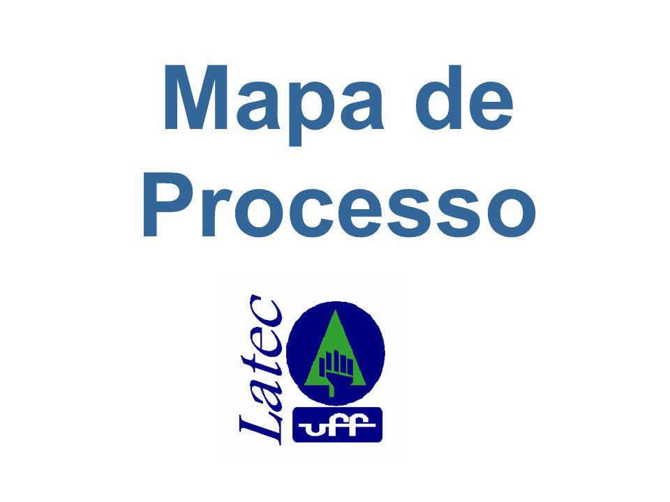 2 UFF / CTC – Universidade Federal Fluminense / Centro Tecnológico TCE / TEP / LATEC – Laboratório de Tecnologia, Gestão de Negócios e Meio Ambiente Curso de Atualização: Desenvolvimento de Projetos Seis Sigma Objetivos No final deste modulo, o participante será capaz de: Definir o que é um Mapa de Processo.