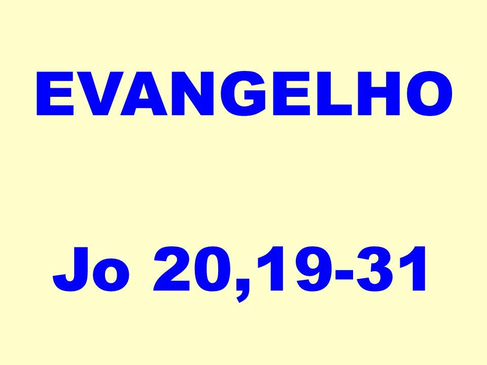 EVANGELHO Jo 20,19-31