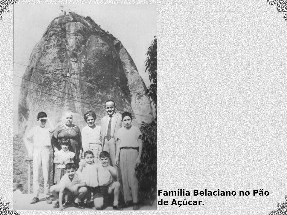 Família Belaciano no Pão de Açúcar.