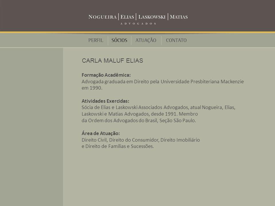 Formação Acadêmica: Advogado graduado em Direito pela Faculdade de Direito da Universidade de São Paulo.