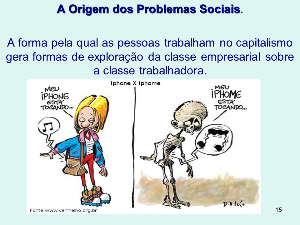 15 A Origem dos Problemas Sociais A Origem dos Problemas Sociais.