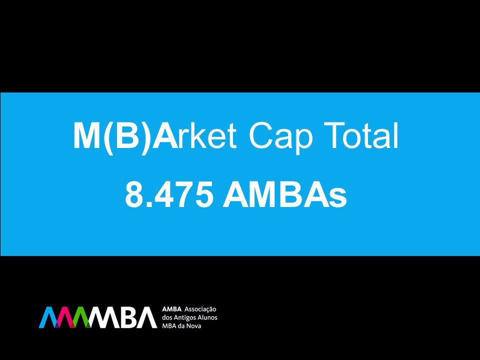 RANKING EMPRESAS Rank Empresa M(B)Arket Cap Nº MBAs Rank 10º GALP ENERGIA 107 9 10º 9º VODAFONE 109 10 9º 8º CGD 131 9 8º 7º BPI 164 8 7º 6º UNIV.