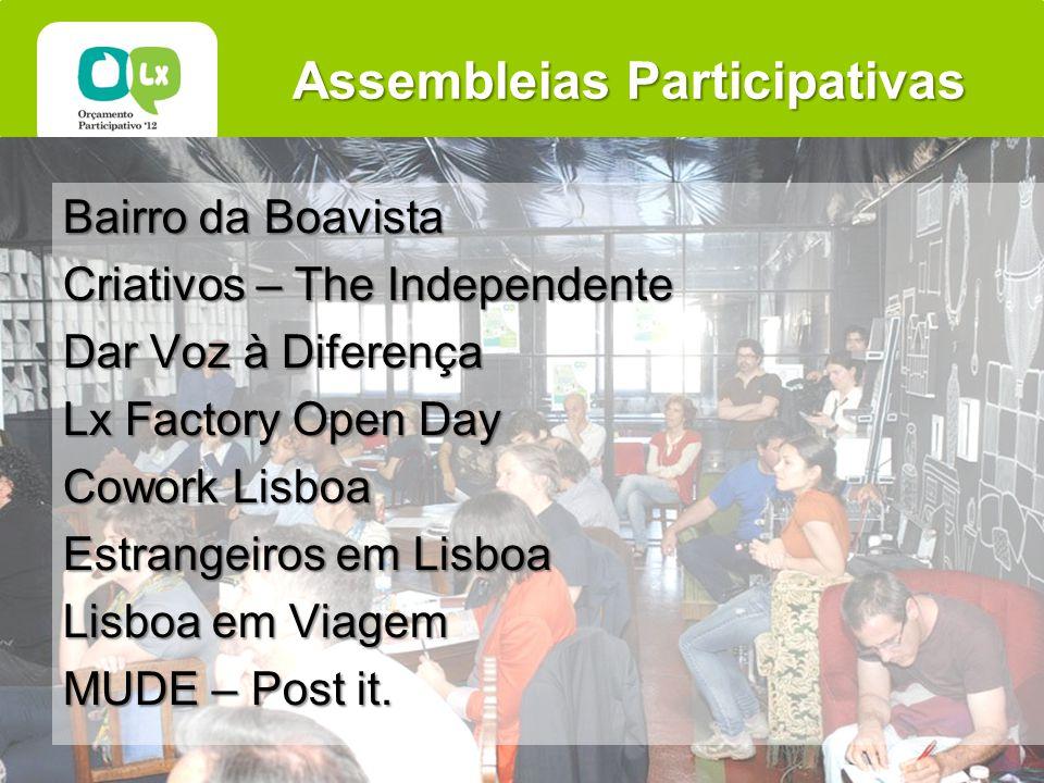 Assembleias Participativas Bairro da Boavista Criativos – The Independente Dar Voz à Diferença Lx Factory Open Day Cowork Lisboa Estrangeiros em Lisboa Lisboa em Viagem MUDE – Post it.