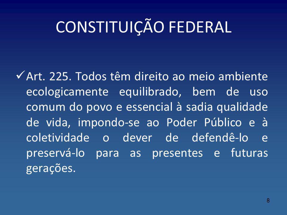 Lei Federal nº 12.651/2012 – Novo Código Florestal §10.