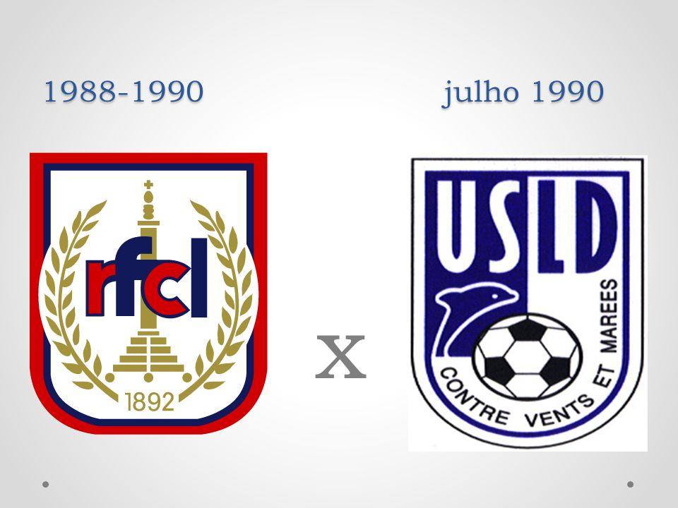 1988-1990 julho 1990 x