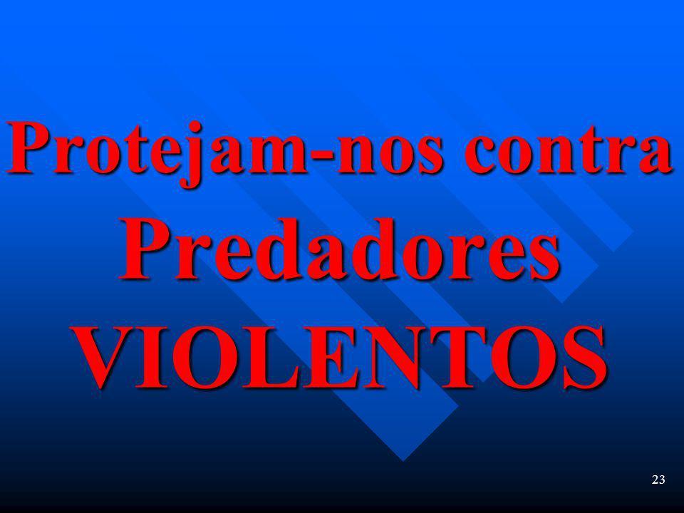 22 Menos 30% de homicídios dolosos solucionados Perseguição de usu á rios de drogas não- violentos