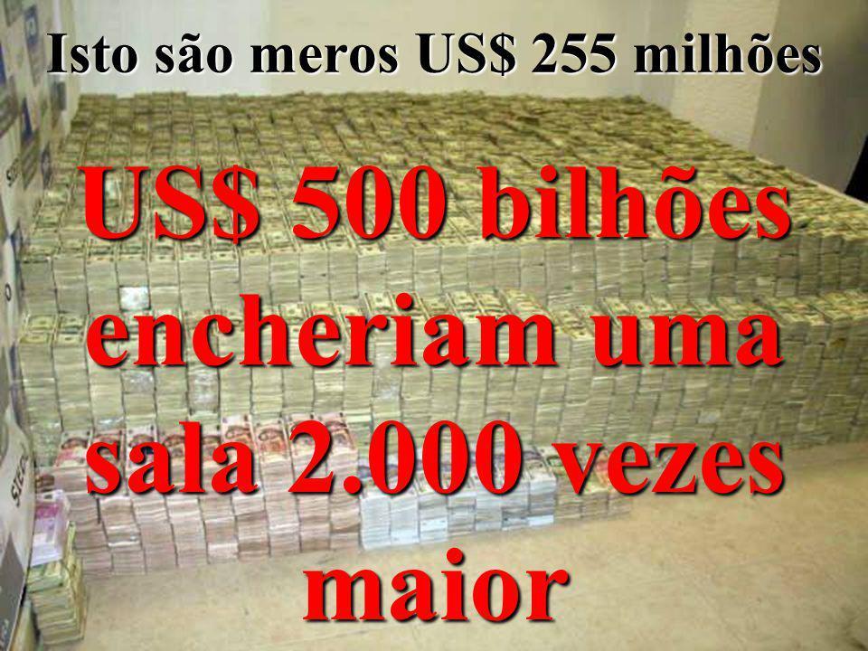 25 O com é rcio internacional de drogas il í citas gera anualmente: US$ 500 bilhões