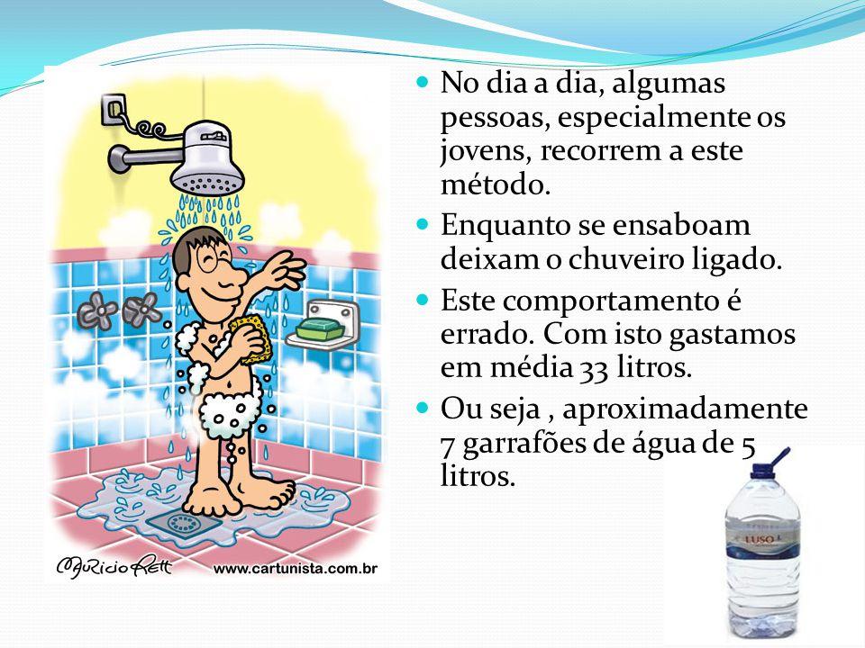 Um aparelho de rega doméstico gasta numa hora 910 litros de água.