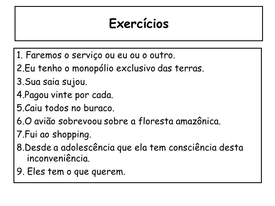 8. Barbarismo C. na grafia: ssãopesquizaze EX: excessão/ pesquiza/ análize. D. na morfologia: ponha EX: Não vou ponha isso aí.