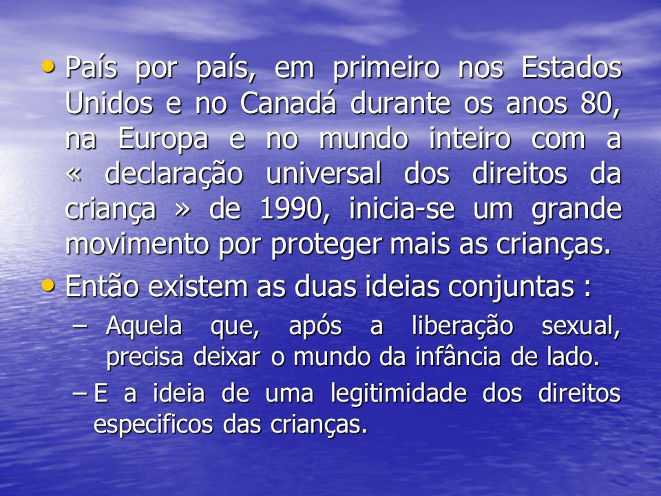 País por país, em primeiro nos Estados Unidos e no Canadá durante os anos 80, na Europa e no mundo inteiro com a « declaração universal dos direitos d