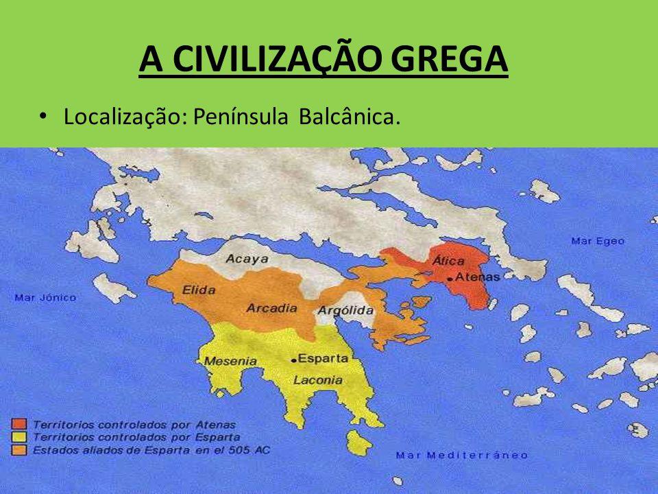 PERÍODOS Período Pré-Homérico (2800 – 1100 a.C.) – povoamento da Grécia.