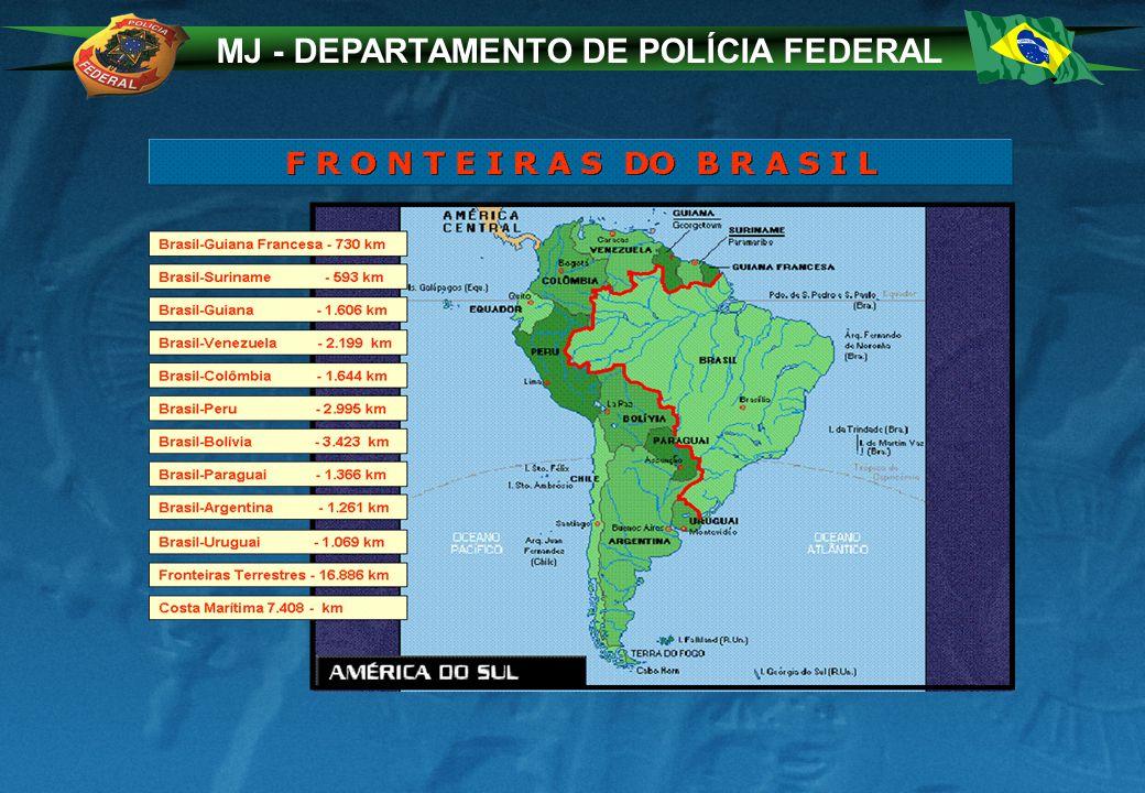 MJ - DEPARTAMENTO DE POLÍCIA FEDERAL