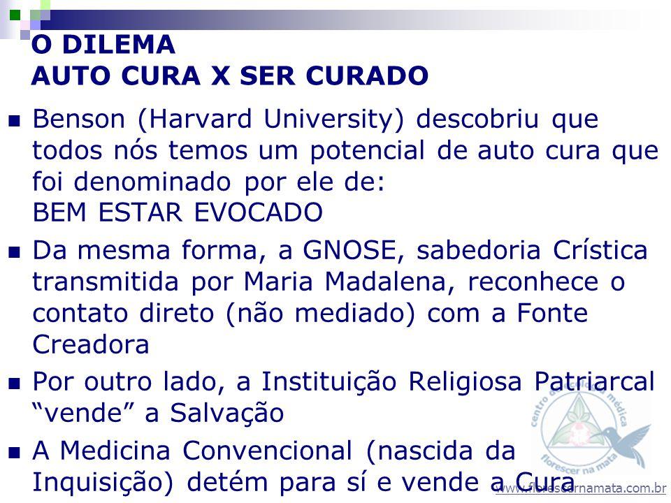 www.florescernamata.com.br Depoimentos dos participantes 1 ano depois A partir do trabalho de Q.V.