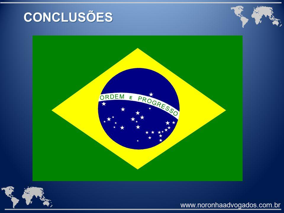 www.noronhaadvogados.com.br CONCLUSÕES