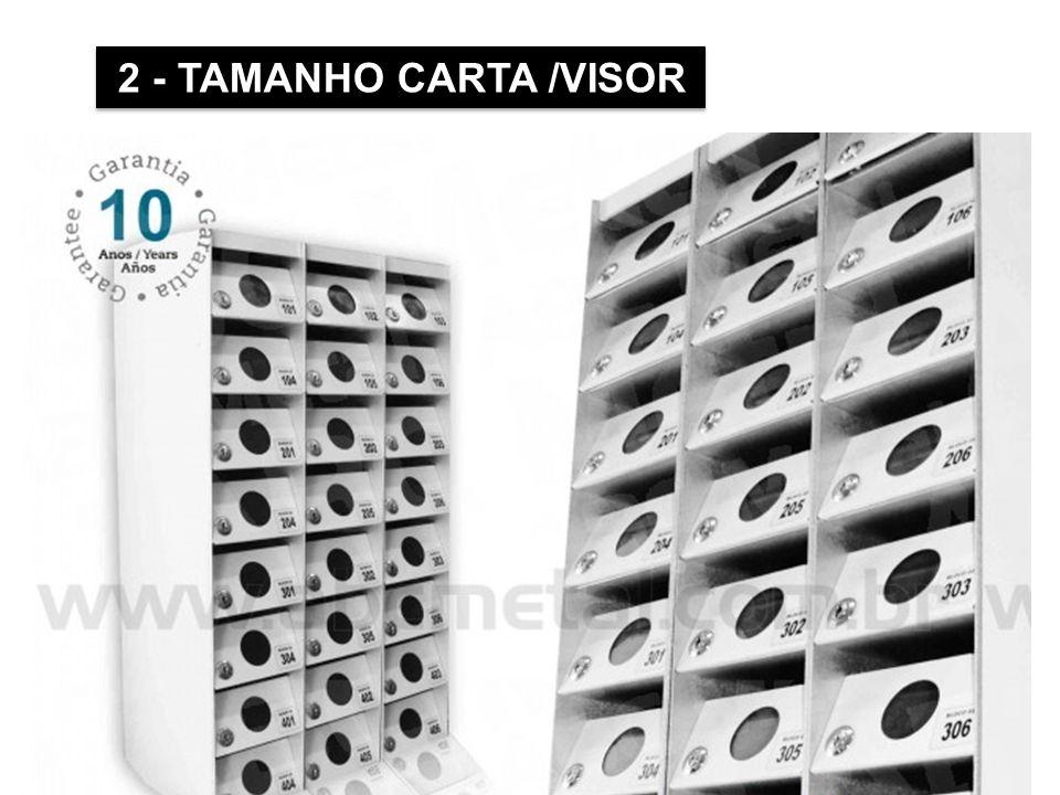 2 - TAMANHO CARTA /VISOR