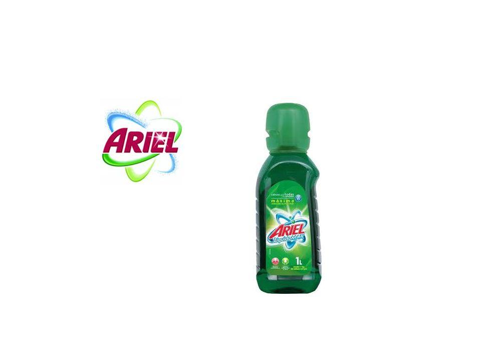 Ariel – Aplicativo Facebook Objetivo: Aumentar o conhecimento do produto permitindo que os usuários experimente o produto.