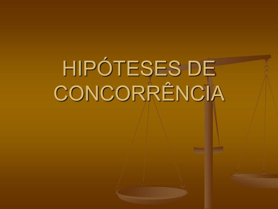 HIPÓTESES DE CONCORRÊNCIA