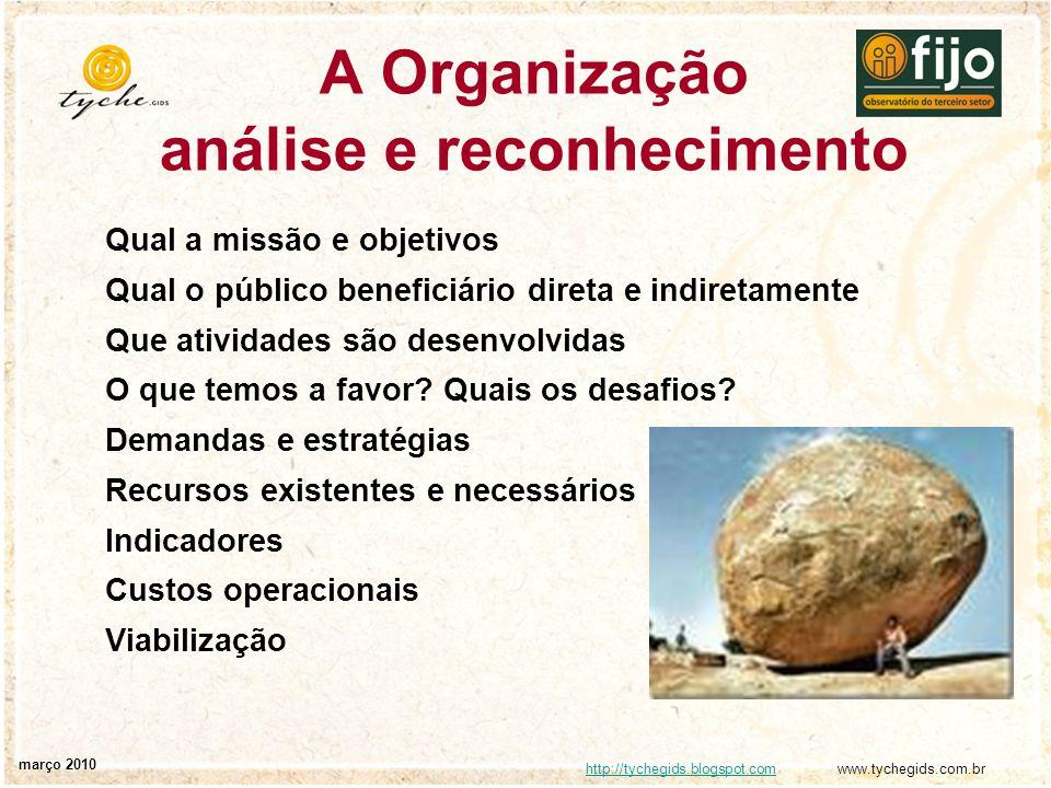 http://tychegids.blogspot.comhttp://tychegids.blogspot.com www.tychegids.com.br março 2010 Planejamento tático - é realizado por áreas ou níveis hierárquicos de trabalho, a fim de utilizar eficientemente os recursos disponíveis para a obtenção de objetivos definidos, segundo uma estratégia predeterminada.