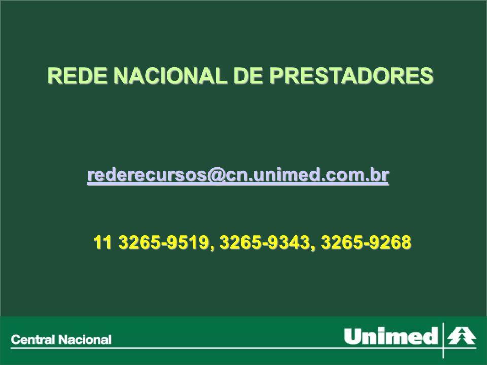 rederecursos@cn.unimed.com.br rederecursos@cn.unimed.com.brrederecursos@cn.unimed.com.br 11 3265-9519, 3265-9343, 3265-9268 11 3265-9519, 3265-9343, 3
