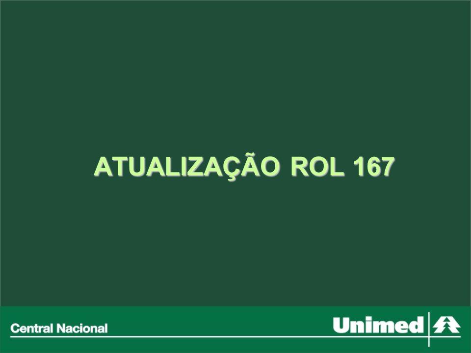 ATUALIZAÇÃO ROL 167