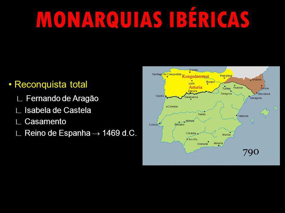 Reconquista total Fernando de Aragão Isabela de Castela Casamento Reino de Espanha 1469 d.C.
