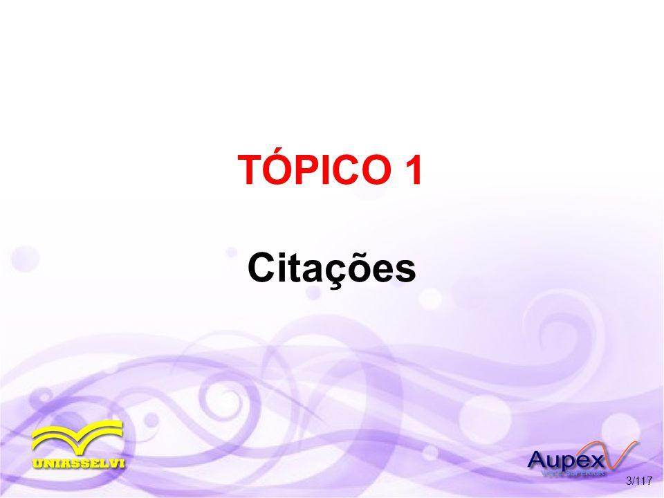 4.2 Sistema Numérico c) Palavras referenciais latinas * Idem ou Id.: mesmo autor, obras diferentes.