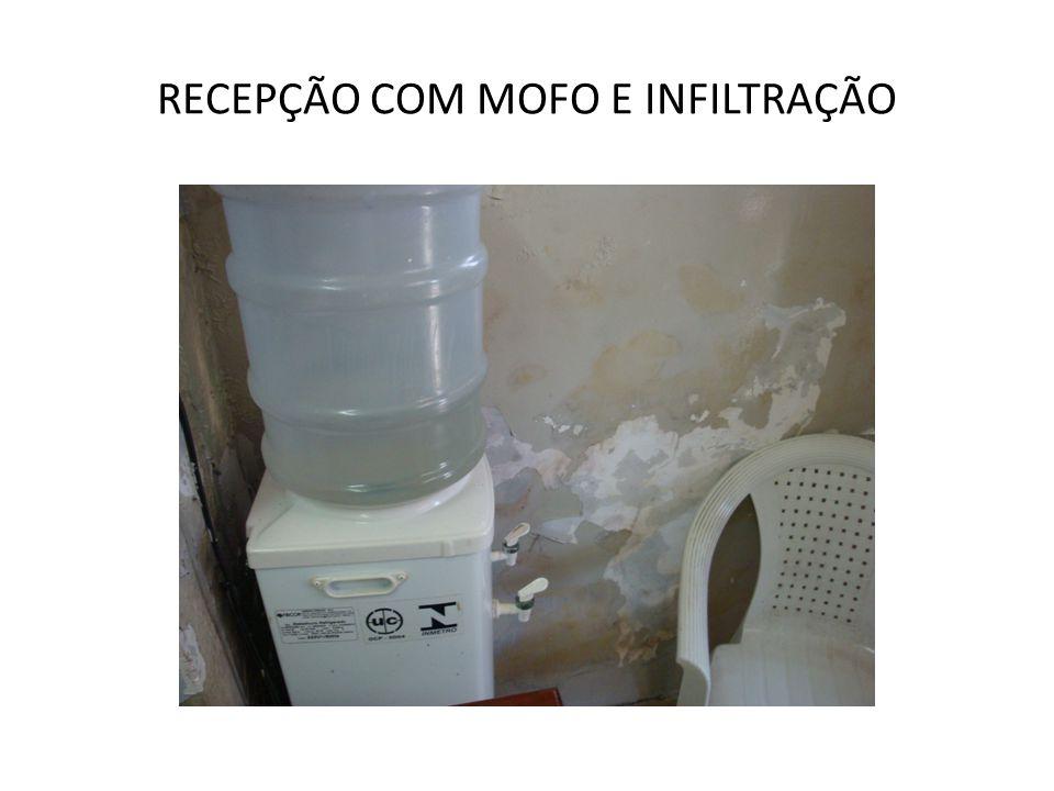 ÚNICO BANHEIRO QUEBRADO