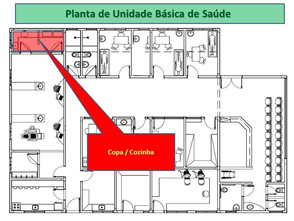 Planta de Unidade Básica de Saúde Copa / Cozinha