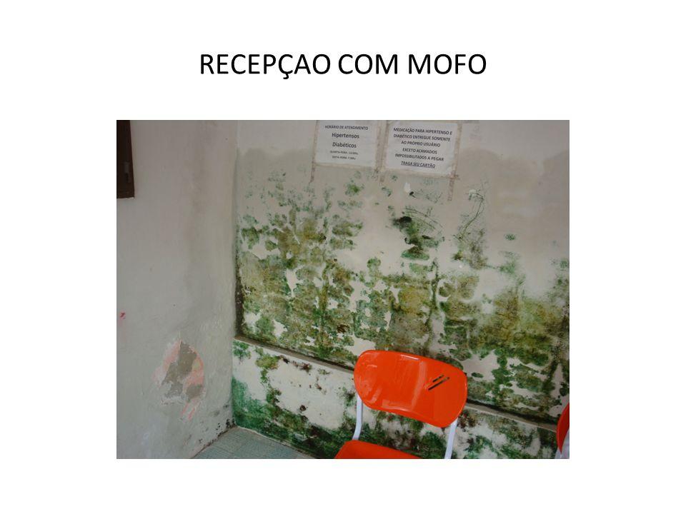 Mobiliários, equipamentos e instrumentais imprescindíveis para a UNIDADE BÁSICA DE SAÚDE que prevê o trabalho de uma EQUIPE DE SAÚDE DA FAMÍLIA Sala de Reuniões da Equipe 1 Mesa de reuniões 4 a 6 Cadeiras 1 Quadro de avisos 1 Cesto de lixo