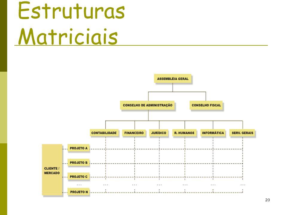 20 Estruturas Matriciais