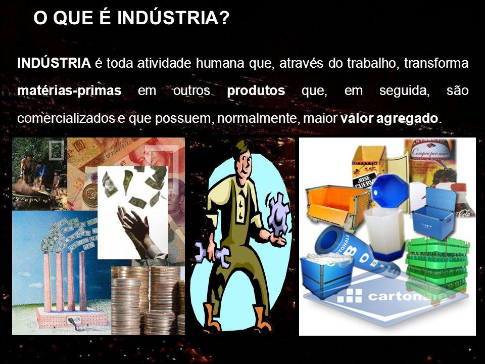 A industrialização e os seus efeitos no espaço geográfico O crescimento da atividade industrial provoca muitas modificações no espaço geográfico.