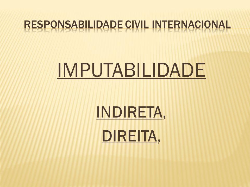 IMPUTABILIDADE INDIRETA, DIREITA,