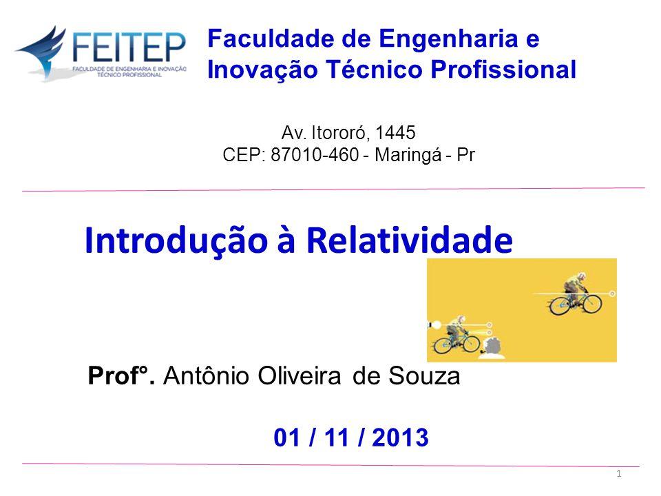 Prof°.Antônio Oliveira de Souza 01 / 11 / 2013 Av.